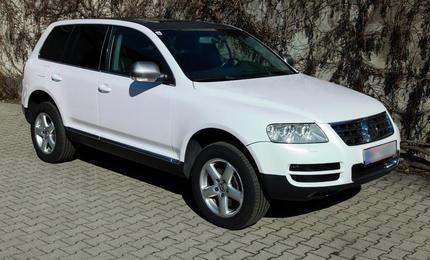 Car Wrapping - VW Touareg
