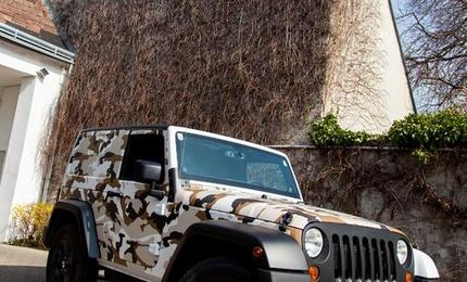 Car Wrapping Jeep Wrangler V6